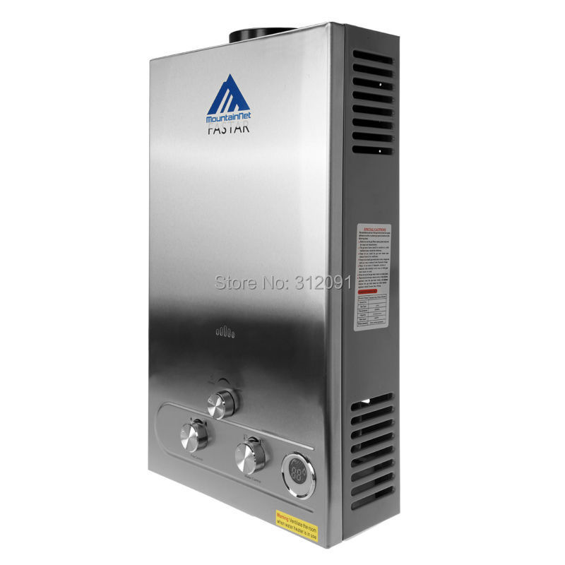 12l lpg instant boiler tankless gas hot water heater stainless steel panel lcd displayce from reliable ship suppliers on amonstar trading