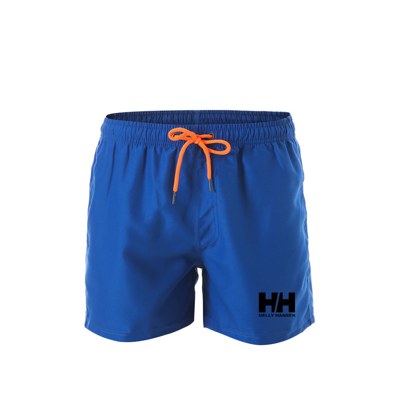 2019 new Mens Gym Fitness   Shorts   Helly Hansen Run Jogging Sports Loose Cool Quick Dry Bodybuilding Sportswear Male   Short