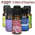 3 pcs Antiperspirants Shower Oils perfume France sandalwood essential oil aromatherapy aroma-free Replenisher rattan 6 flavor