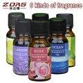 3 pcs Antitranspirantes Chuveiro França perfume de Óleos de aromaterapia aroma do óleo essencial de sândalo-livre Repositor rattan 6 sabor