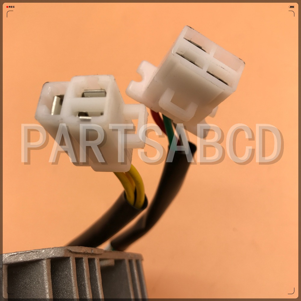 Gy6 125cc 150cc 11 Pole Stator Voltage Regulator 6 Wires Rectifier GY6 Wiring  Schematic Gy6 11 Pole Stator Wiring