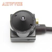 AHWVSE High Definition 3 7mm Pinhole Lens 2000TVL Surveillance AHD Camera With Audio Microphone AHDH 1080P