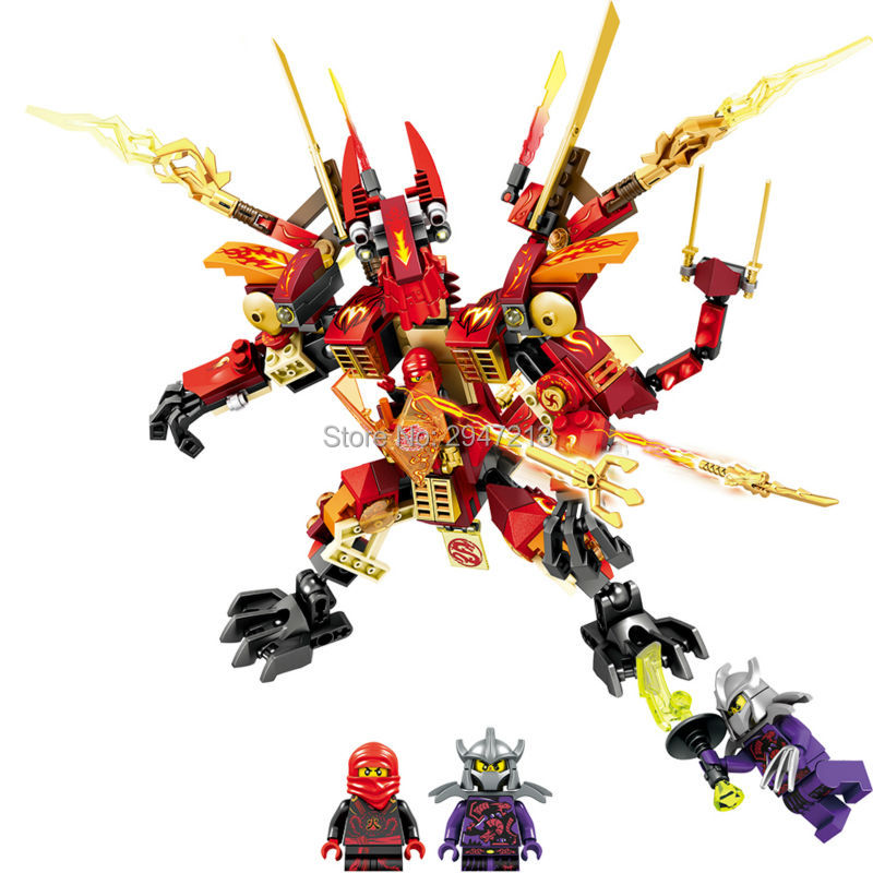 2017 hot sembo block compatible lepin mini ninja figures Building blocks with weapons Dragon Armor brick Toys for children gift lepin 02012 city deepwater exploration vessel 60095 building blocks policeman toys children compatible with lego gift kid sets