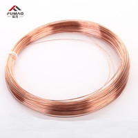 FUMAO 1 kg Red Cu line T2 Copper Wire Diameter 0.5 0.8 1 1.5 2 2.5 3 4 5mm Pure Copper Bare Wire