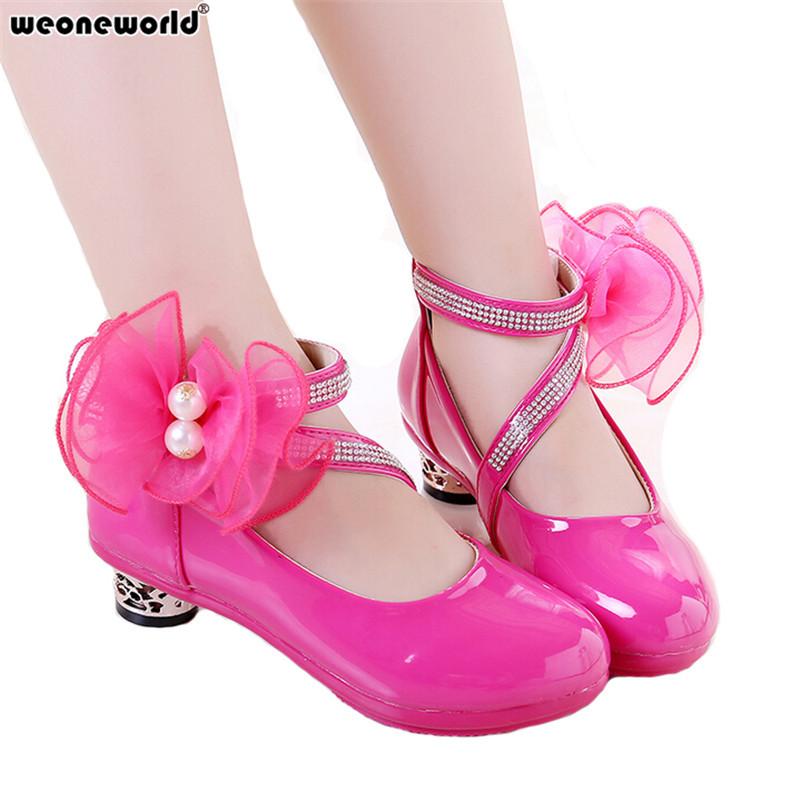 WEONEWORLD 2018 spring autumn baby girl shoes Children ...