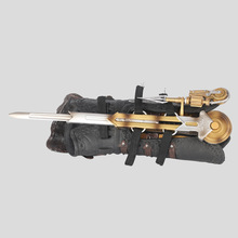 цена на Anime 6 Hidden Blade Sleeve sword Action Figure Pirate Hidden Blade Edward COSPLAY 1:1 Weapons Sleeves swords Children's toy