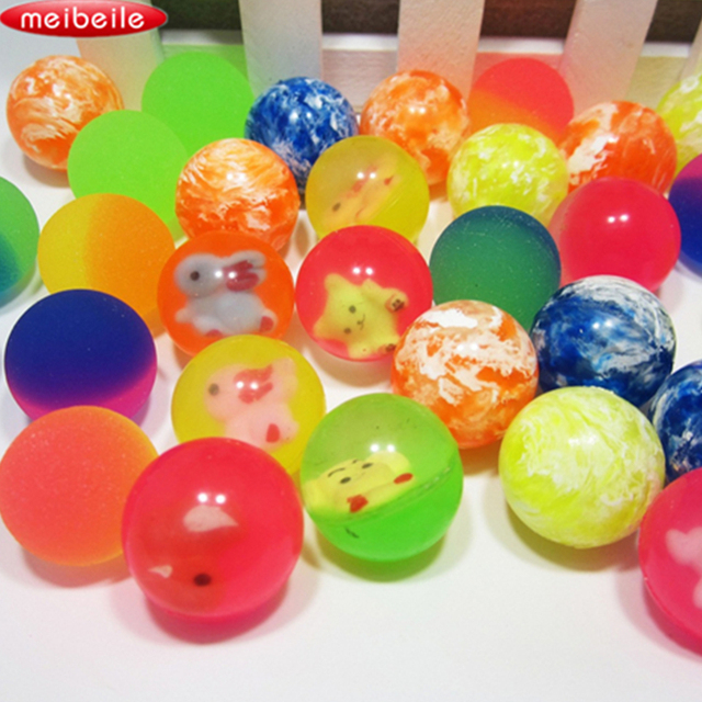 27mm gomma palle che rimbalzano pallone elastico cartone animato