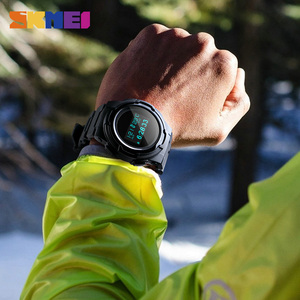 Image 5 - Skmei Digitale Horloge Mannen Multifunctionele Sport Horloges Calorie Berekening Wekker Kompas Heren Horloges Montre Homme 1439