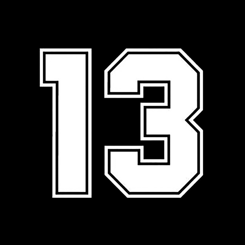 Image 4 - 15*13.7cm Number 13 Carbon Fiber Funny Car Sticker Vinyl Decal Auto Car Stickers and Decals Sticker on Car Styling Decoration-in Car Stickers from Automobiles & Motorcycles