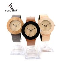 BOBO BIRD H12 Luxury Wooden Women Watches Designer Bamboo Case Watch With Silver Needles Japanses Movement