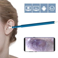 3 In 1 USB OTG Visual Ear Cleaner Cleaning Endoscope Spoon Multifunctional Earpick Diagnostic Tool Examination
