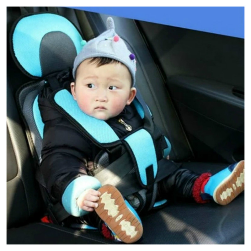 Portable Baby Car Seat Adjustable 0-5 Years Old Baby Safe Booster Seat Toddler Simple Car Safety Seat Thicken Stroller Seats Pad