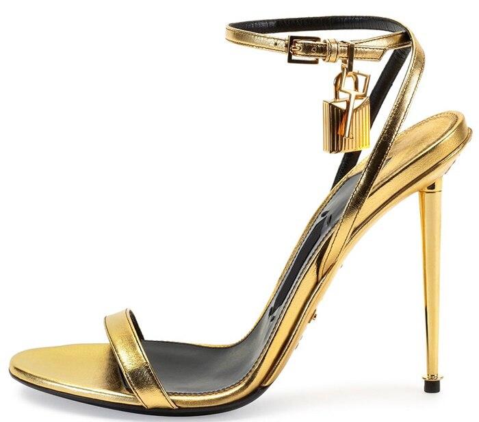 e4bf136dab9fee Wholesale New Style 2015 Chic Designer Celebrity Metallic Ankle .