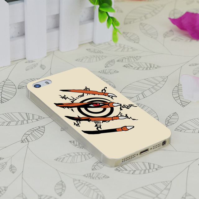 Naruto Nine Tails Print iPhone Case