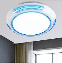 Новый Светодиодный Потолочный Светильник Детская Комната Потолочный Светильник AC85-265V Холодный Белый теплый белый Акрил светодиодный потолочный детская спальня огни