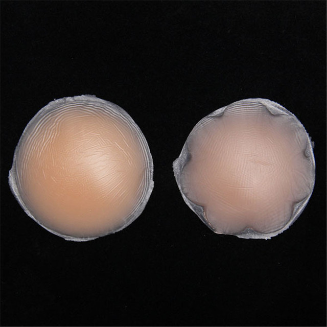 d9b1f92dc42 1 Pair Hot Reusable Invisible Self Adhesive Silicone Breast Chest Nipple  Cover Bra Pasties Pad Petal Mat Stickers Accessories
