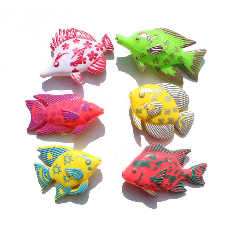 New Learning & education magnetic fishing toy comes with 6 fish and a fishing rods, outdoor fun & sports fish toy gift for baby