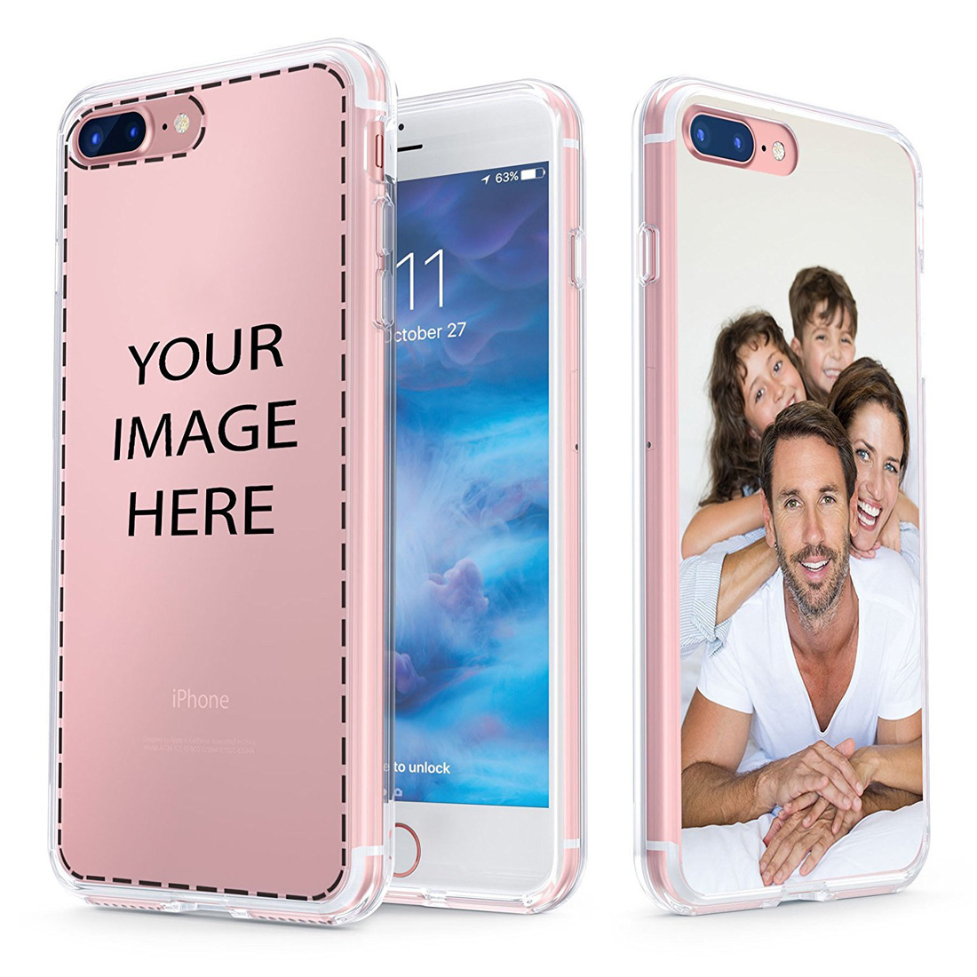 Custom Personalized Make your Photo pattern images Soft Clear Phone Case Cover For iphone 11Pro MAX 6 6s 7 8plus 5 X XS XR XSMax