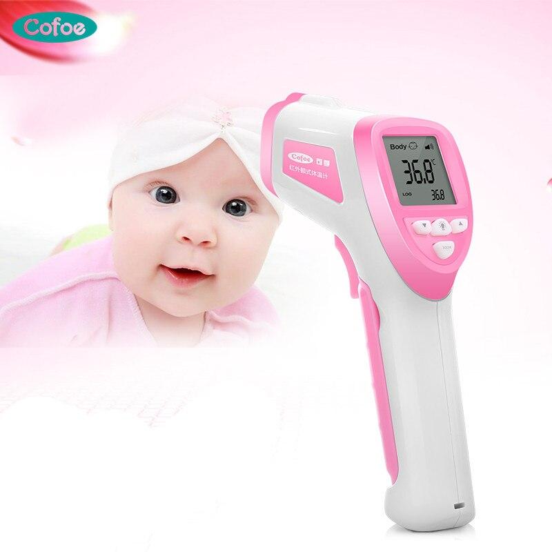 Liefern Elera Baby Stirn Thermometer Digitale Temperatur Messung Nicht-ir Körper Fieber Infrarot Thermometer Pistole Baby Kinder Heim-gesundheitsmonitor Thermometer