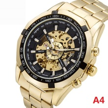 New Men Top Brand Luxury Watches Automatic Mechanical Watch Vintage Man