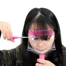 Hair Styling Tools Hair Combs Cut Bangs Stencil Bangs Tool Scissor Shape Bangs Comb Models Clipper Fringe Hair Cutting Guide