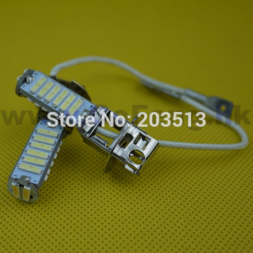 50pcs/lot 2014 new products auto car lighting high power 20 smd H3 7014smd 20 leds good quality FOG bulb lamp Free shipping