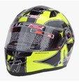 Genuine LS2 FF358 casco de moto casco de carreras de lujo todo el invierno casco casco de seguridad/Especial blanco/Guerrero