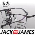 Praça caixa de armações de óculos de olho para homens e mulheres óculos de armação de óculos de prescrição moda mens óculos 32035