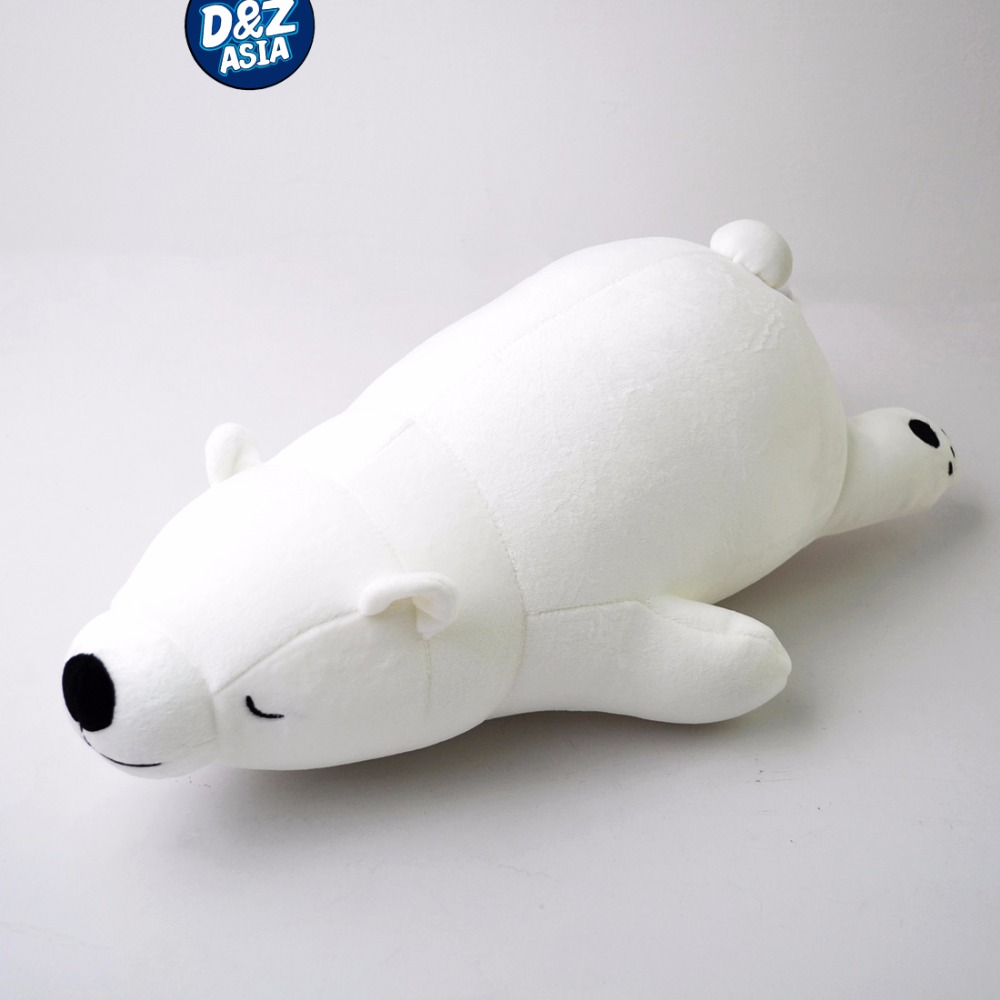 Creative polar bear doll bed pillow foam particles Childrens Day birthday gift ...
