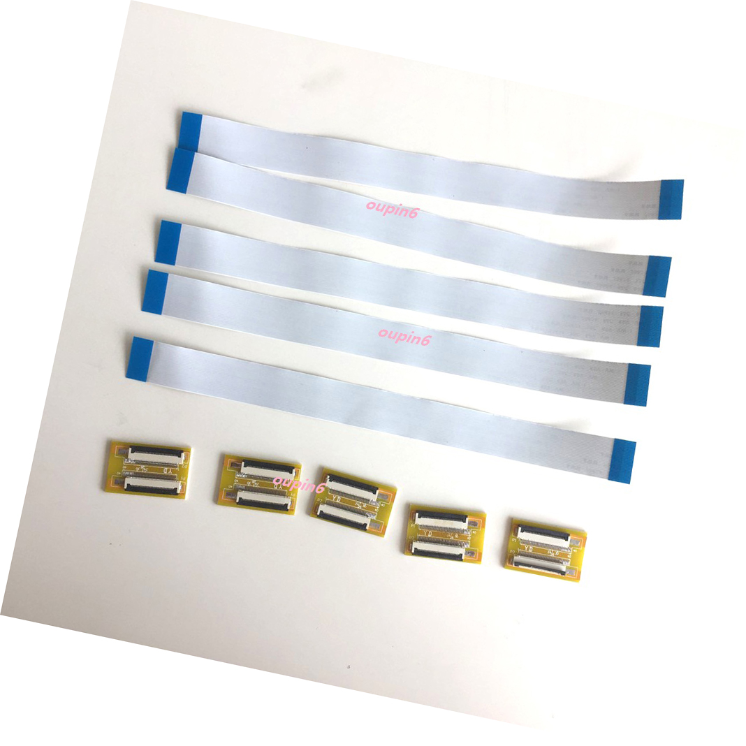 5 X FFC FPC 36 Pin 0.5mm Pitch Ribbon Cable Line ZIF HDD 20CM+Adaptor Extend 2019 36pin To 36pin 200MM