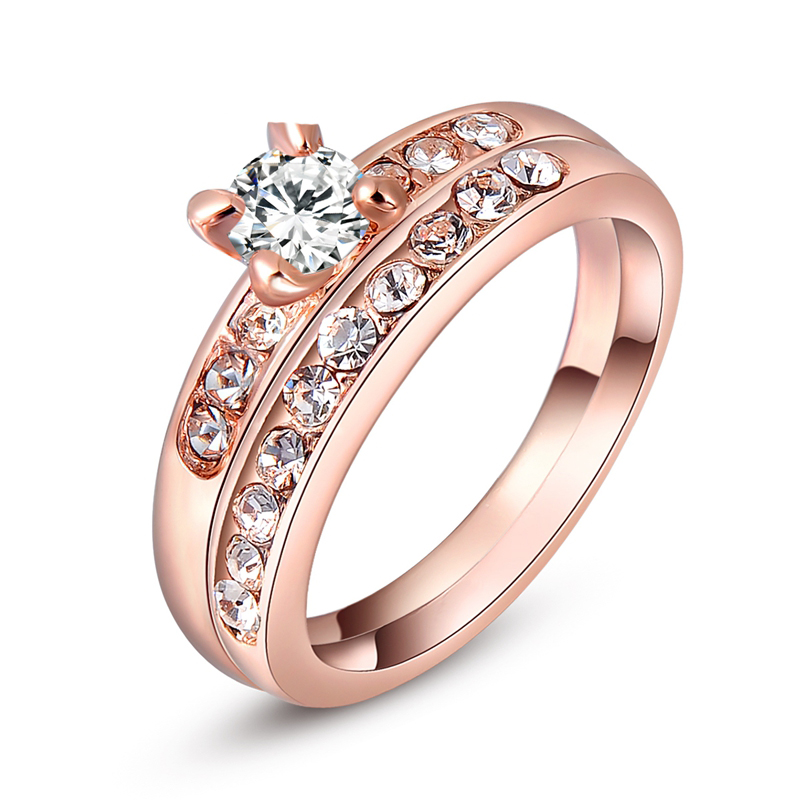 Romad Rose Gold Color...