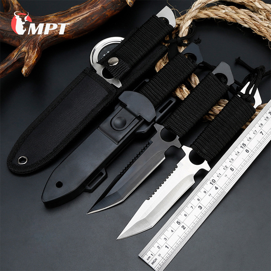 Hunting knife fixed bladeTactical Paratroopers Knife Hunt Stainless Steel Diving Outdoor Survival Camping Pocket Knives machetHunting knife fixed bladeTactical Paratroopers Knife Hunt Stainless Steel Diving Outdoor Survival Camping Pocket Knives machet