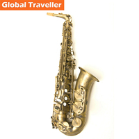 HONOR Antique Copper Eb Alto Sax Eb Alto Saxophone E Flat Sax Woodwind Instruments Jazz Sax