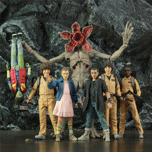Stranger Things Punk Eleven WILL MIKE DUSTIN LUCAS Demogorgon 7 Scale Action Figure Original Mcfarlane Toys TV Doll Collectible
