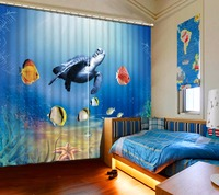 Understand World Printing Kids Curtains Modern Curtains For Window Living Room Bedroom Curtain Drapes Cortinas Home Hotel Decor