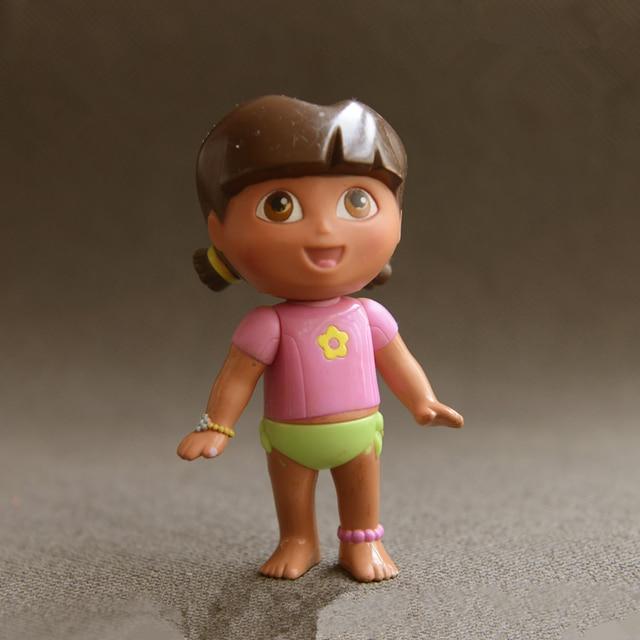cute adorable anime explorer girl doll model children toy kids
