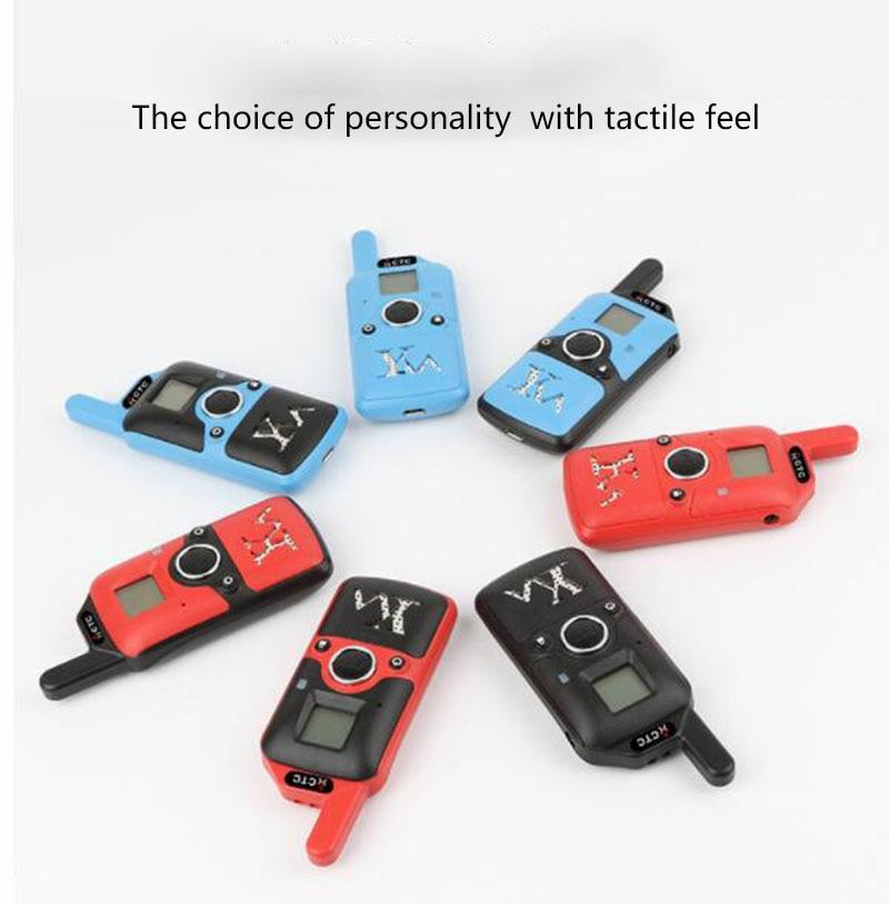 2pcs Wholesale Children Mini Kids UHF Walkie Talkie BF-T3 Baofeng FRS Two Way Radio Comunicador T3 Handy Talkie Hf Transceiver (7)