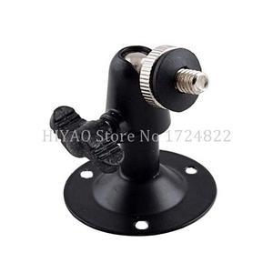Image 4 - Darmowa wysyłka Mini czarny do montażu na ścianie lub uchwyt do CCTV mocowanie kamery akcesoria