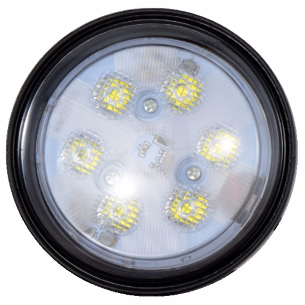 2Pcs 4.4inch 18W Cree chips 800LM Car LED Headlight Bulb Work light ATV offroad truck boat tractor lamp