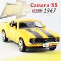 Подарок для ребенка 1 шт. 1:36 13 см классический 1967 Chevrolet camaro SS мини сплава пузырь автомобилей коуниверсален модель украшения дома мальчик игрушка