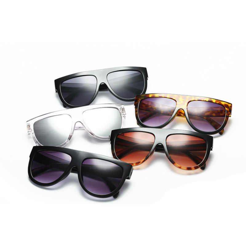 23be873bb4e55 ... Trend sunglasses for women 2018 new glasses ladies girls Sunglasses  large frame fashion glass black sunglass