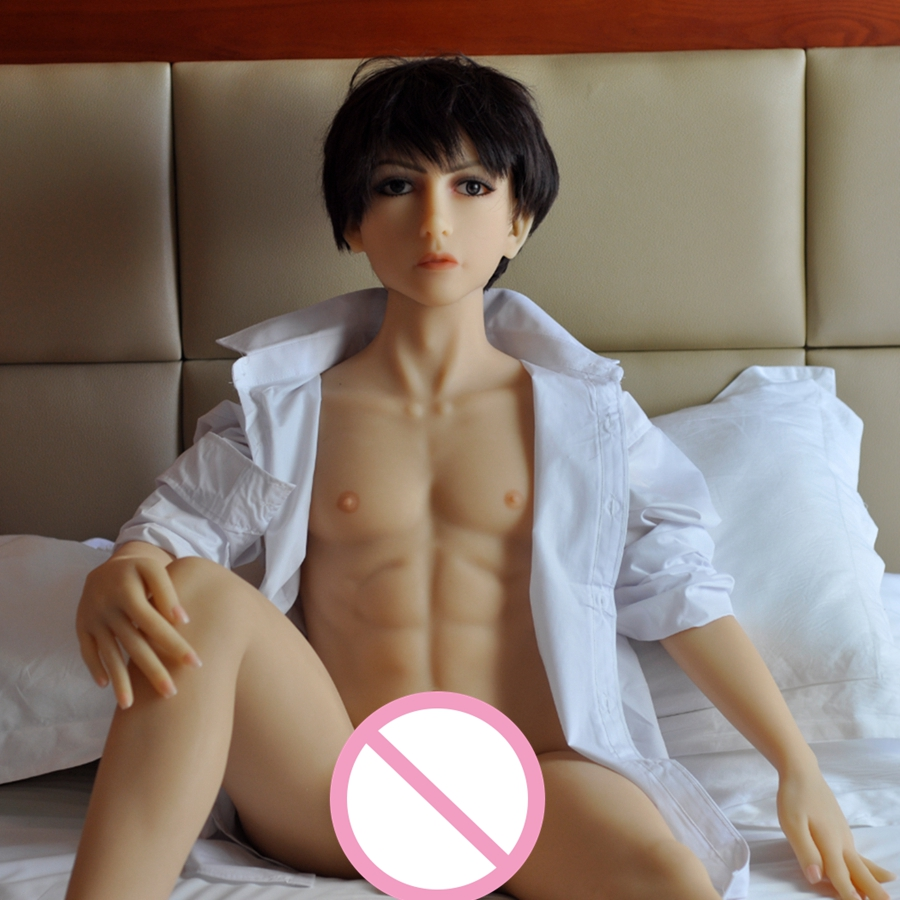 140cm Realistic Real solid full silicone life size male love sex dolls for women masturbator with penis anal hole for shemale 2016 new realistic life size 100