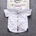 T-shirt roupas menino das crianças bobo choses 2017 design da marca camisa de algodão de verão crianças bebê Tops camisetas 2-8 T das meninas do menino t-shirt