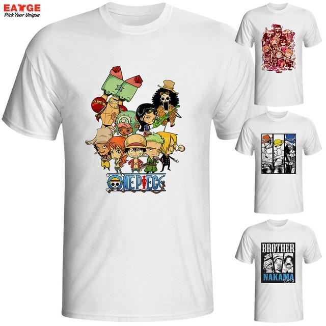 Anime One Piece Men T-shirt