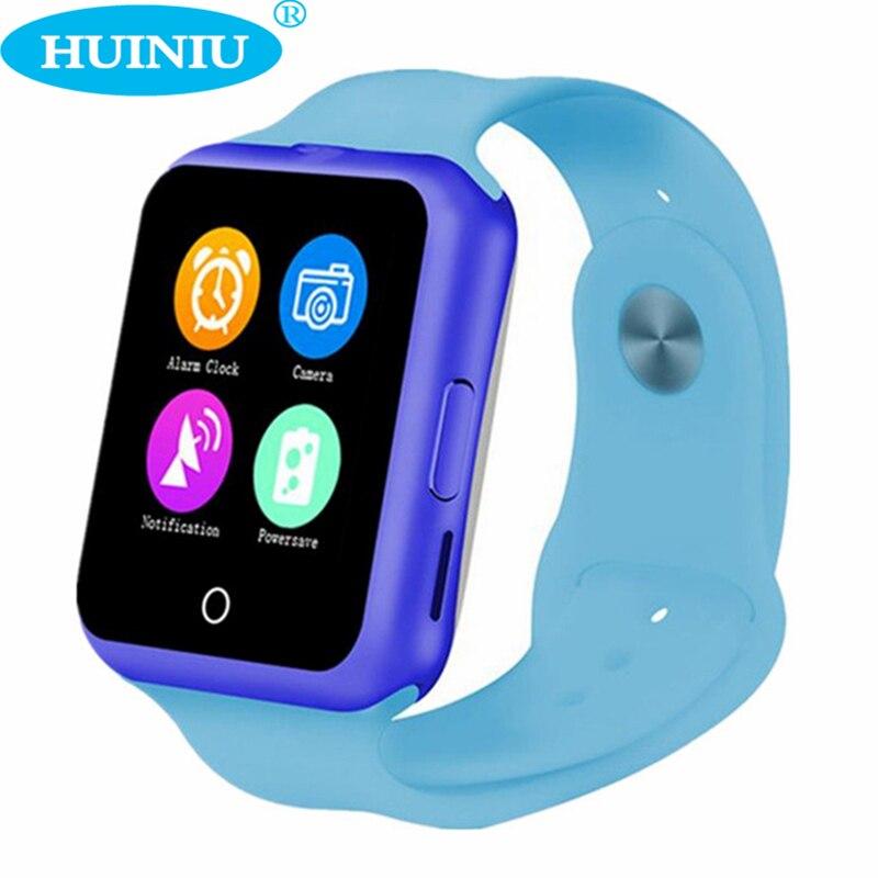 imágenes para HUINIU D3 Bluetooth Inteligente Reloj Del Ritmo Cardíaco Del Podómetro Rastreador SIM Para Niños Niño Niña Regalo de Apple Android Niños Teléfono Smartwatch