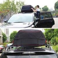 Waterproof Roof Top Carrier Cargo Bag Rack Storage Luggage Car Rooftop Travel For Cruze Focus Cherokee