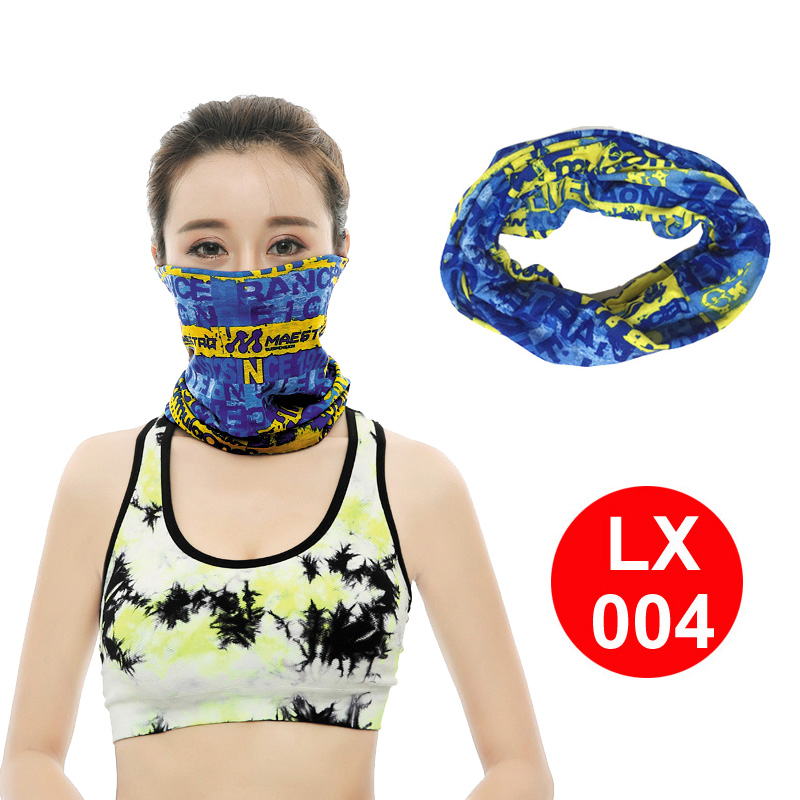 Cycling Windproof UV Protection Face Mask Outdoor Climbing Hiking Skiing Fishing Headwear Camouflage Bandana Neck   Scarves     Wraps