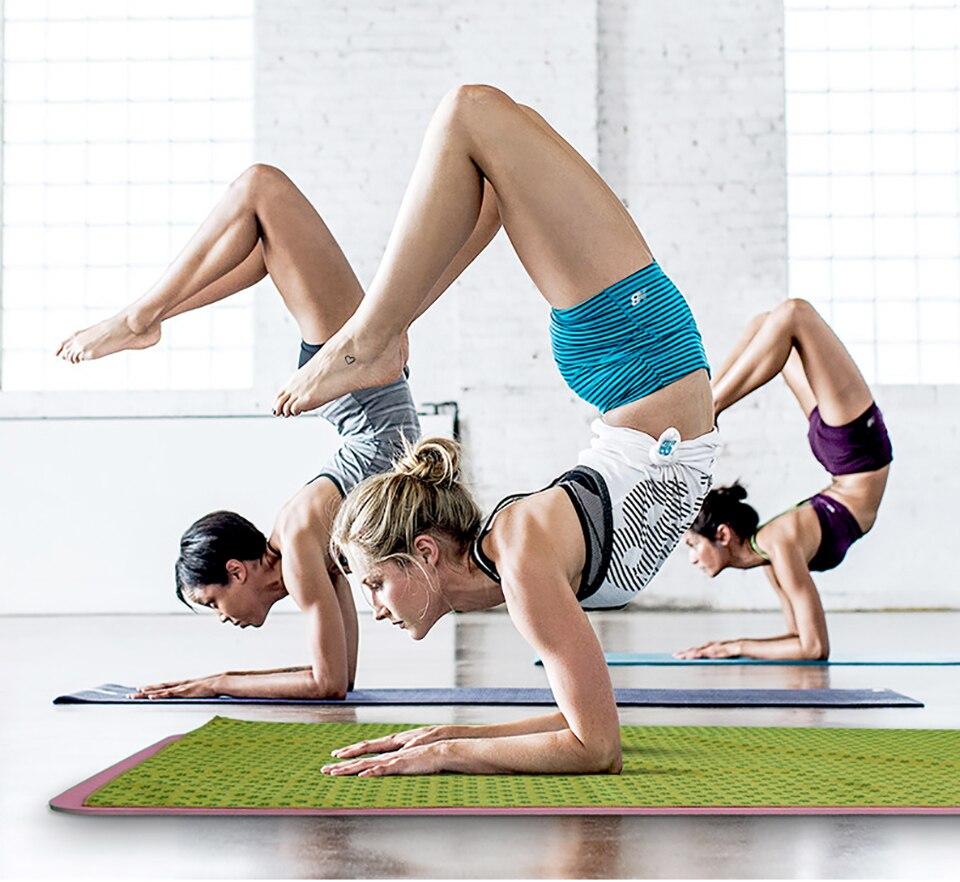 Tampa Antiderrapante Tapete de Yoga Cobertor Toalha