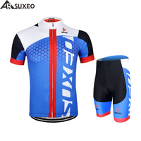 2015 ARSUXEO Men Cycling Jersey Bike Bicycle Long Sleeves Mountaion Clothing Shirts ZLJ21 Q