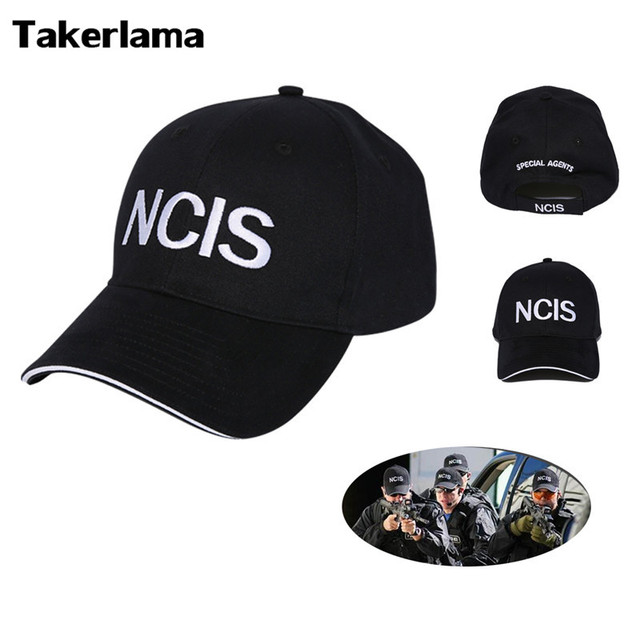a6e6f656e4f 2017 NCIS Cap Embroidery Hat Special Agents Logo Hat Naval Criminal  Investigative Service Movie Cap Adjustable Baseball Cap Hat -in Boys  Costume Accessories ...